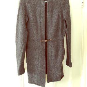 J. McLaughlin Sweaters - J McLaughlin long cashmere buckle cardigan - small
